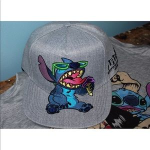 45b8186bc40 Disney Accessories - FLASH SALE Disney Lilo   Stitch Snapback Hat